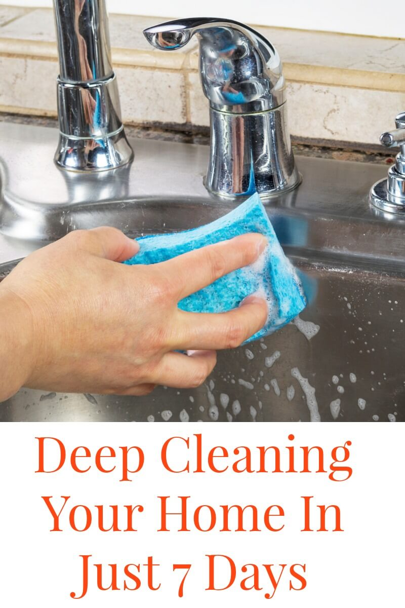 Deep Clean Your Home In 7 Days - Penny Pincher Jenny