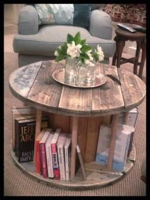 spool book shelf