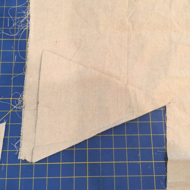 make dropcloth bunting