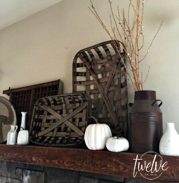 Style A Simple Farmhouse Fall Mantle