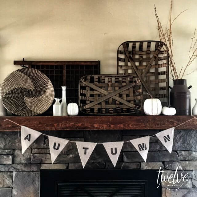 Create A Simple Farmhouse Mantle