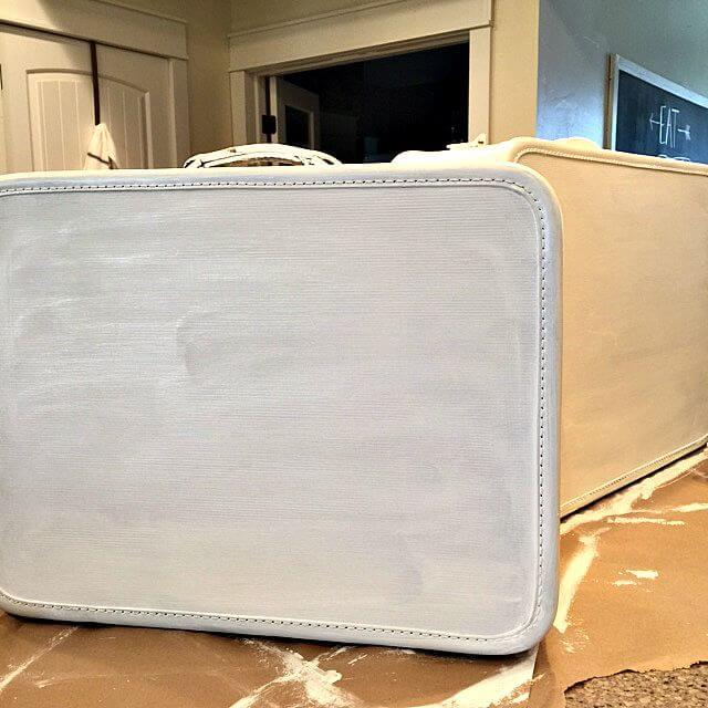 repurpose old suitcase