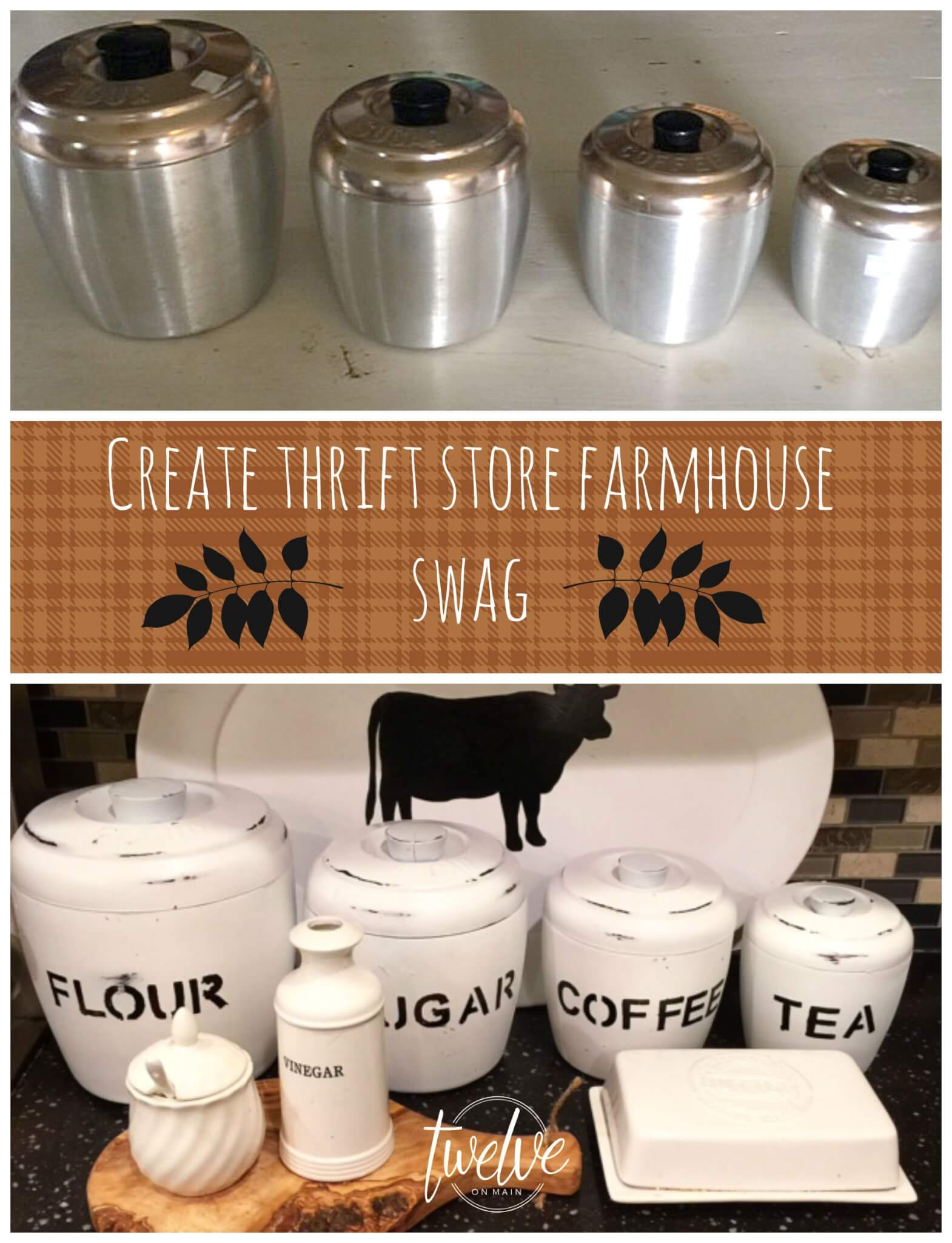 Thrift Store Farmhouse Swag Series!