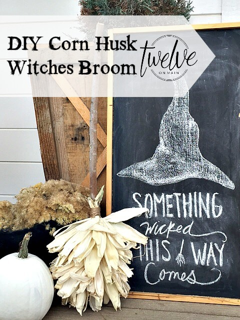 DIY Corn Husk  Broom