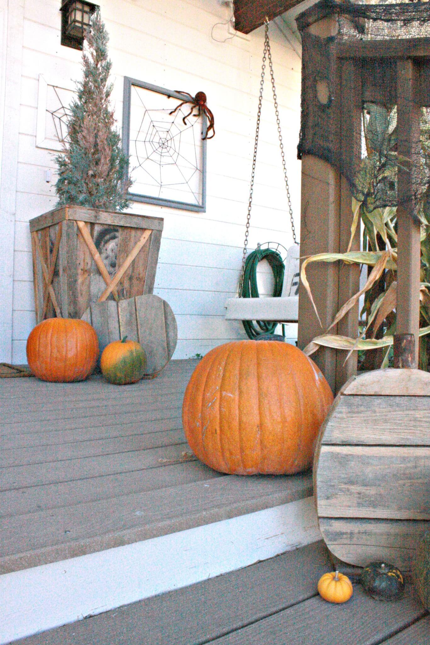Twelve On Main Fall Porch Tour