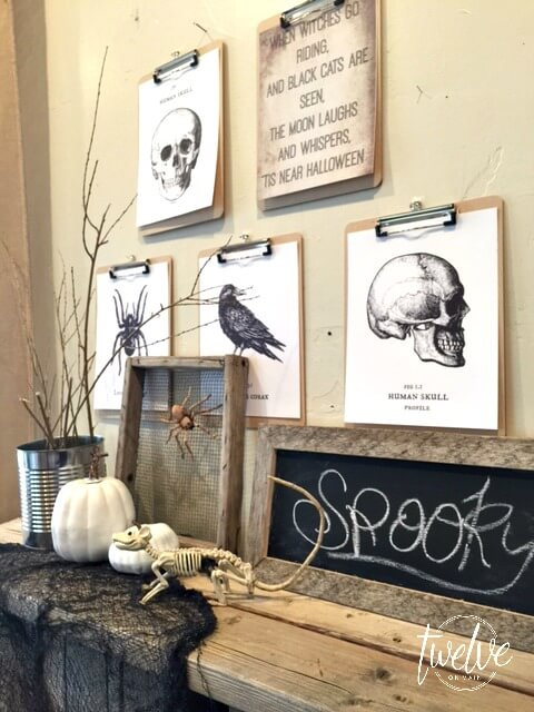 Neutral Halloween Decor