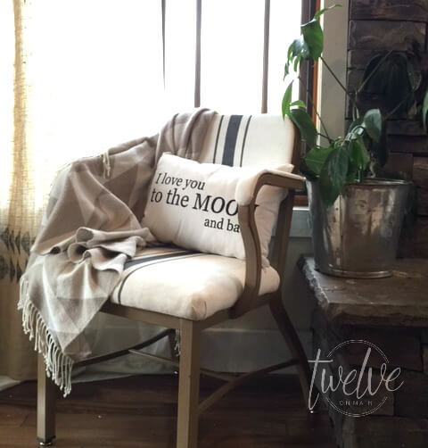 Reupholster A Thrift Store Chair with Farmhouse Flair