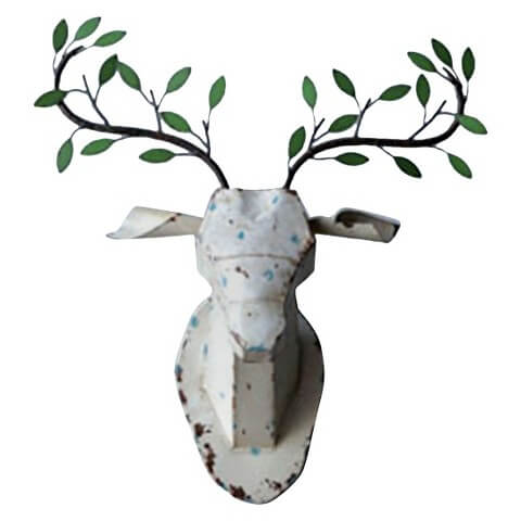 Deer Head Decor