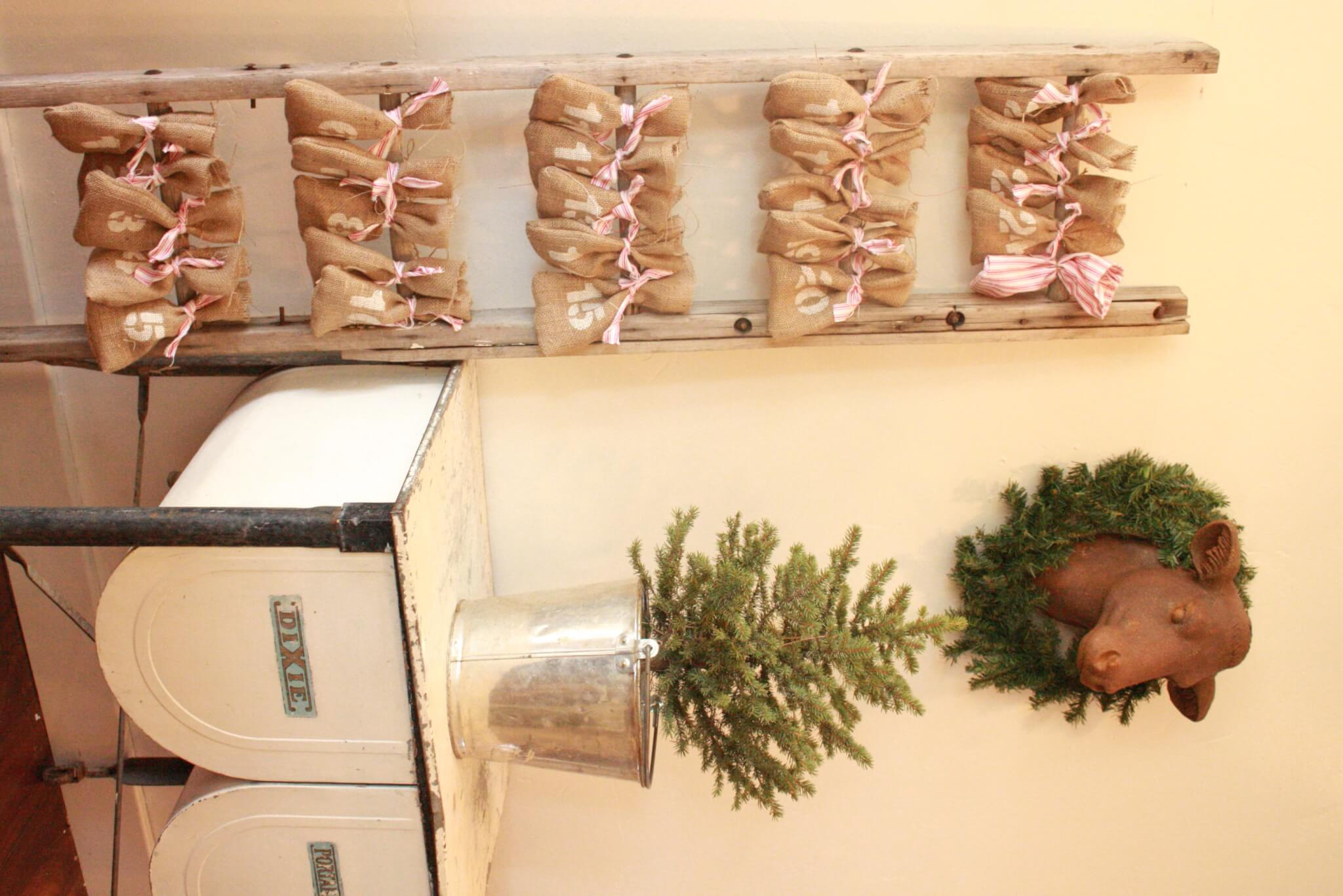 Woodland Farmhouse Christmas Tour