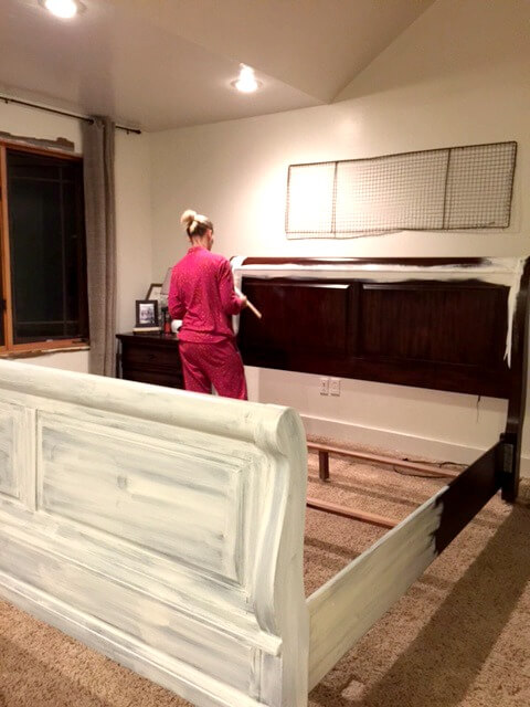 Painting And Distressing Furniture 101 Bringing Farmhouse