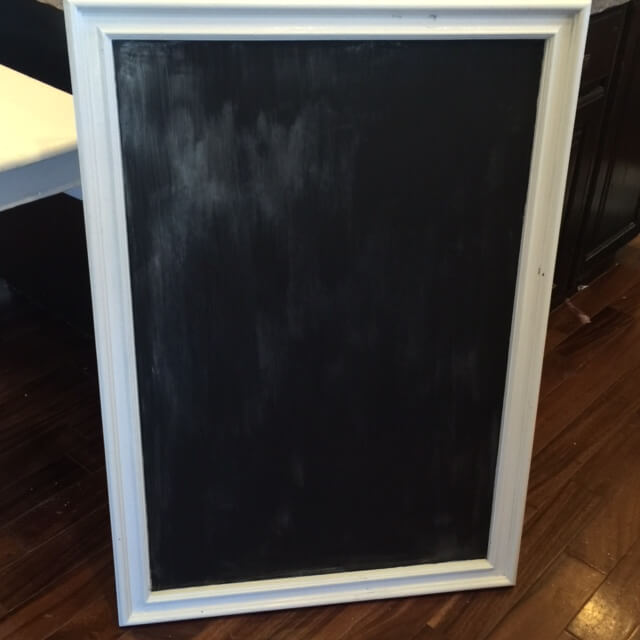 Turn A Mirror Into A Chalkboard
