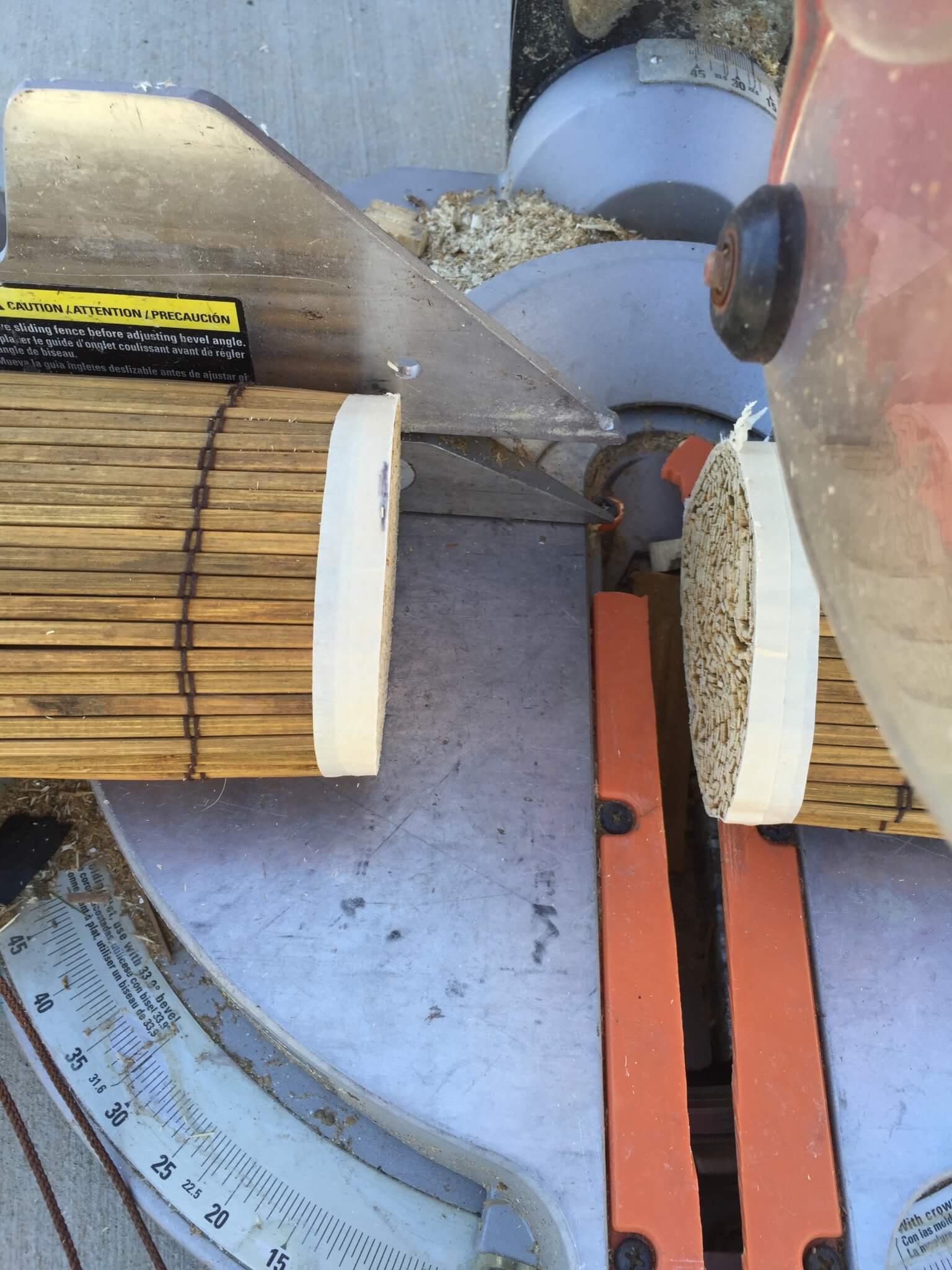 How I Customized My Wooden Roman Shades