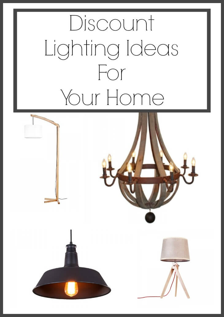 Discount Lighting Ideas For Your Home