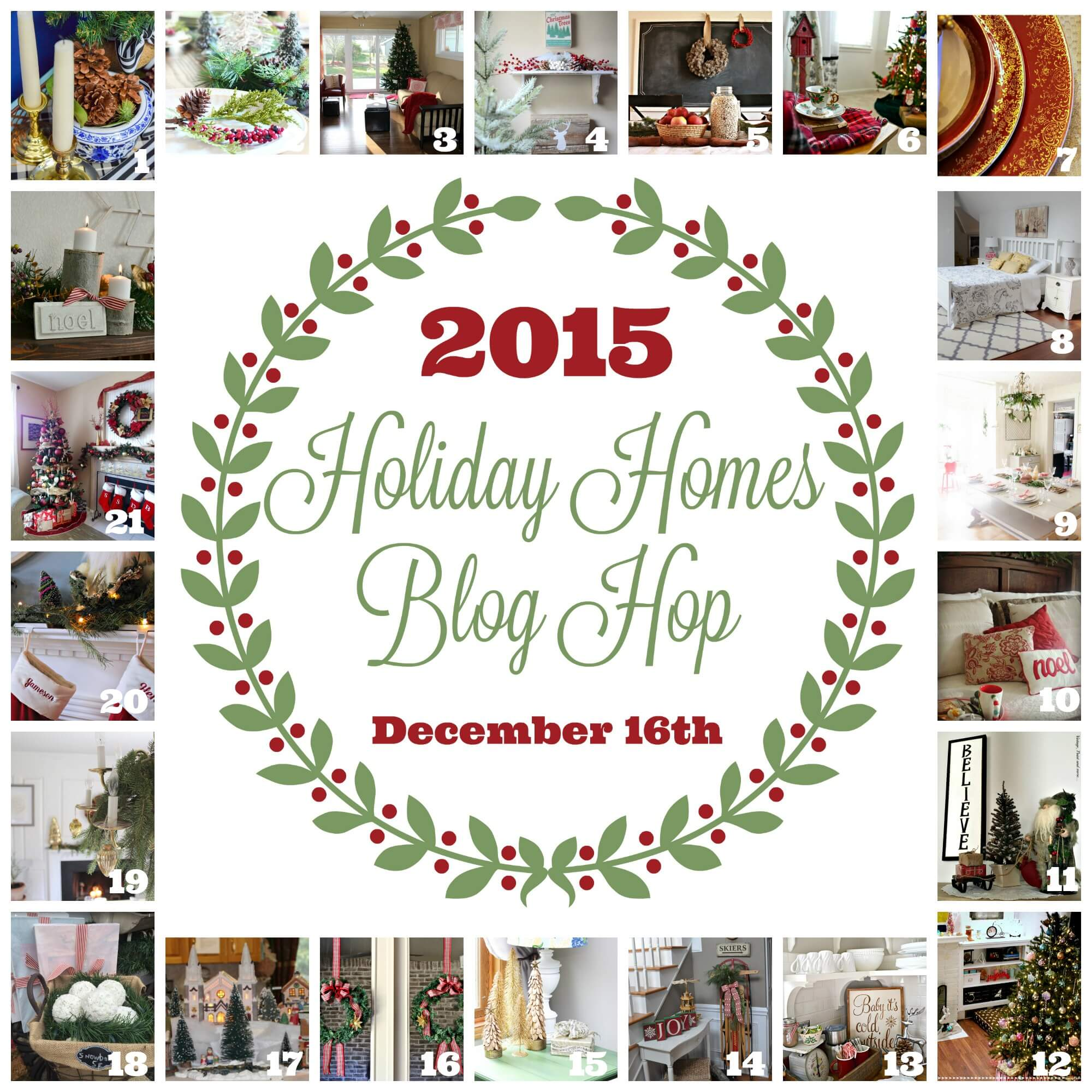 Holiday Homes Blog Hop