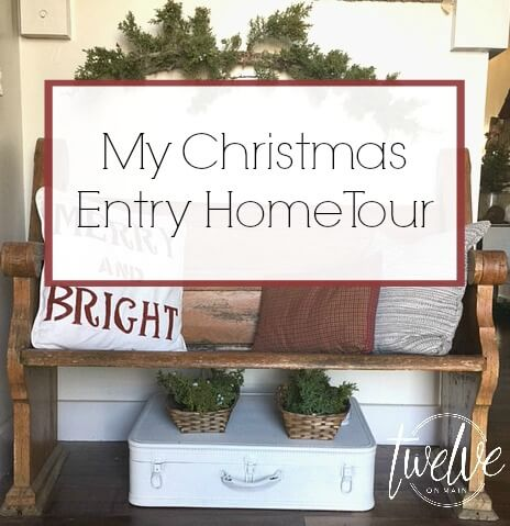 My Christmas Entry Home Tour-Welcome To My Home