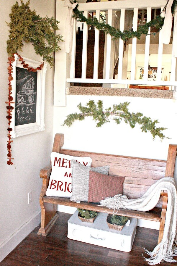 Christmas Entry Home Tour