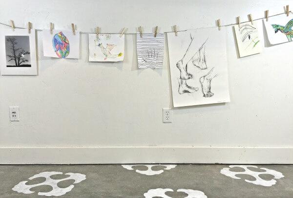 The easiest way to display children's art! | Twelveonmain.com
