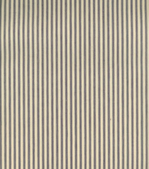 Use this ticking stripe fabric to make amazing curtains. | Twelveonmain.com