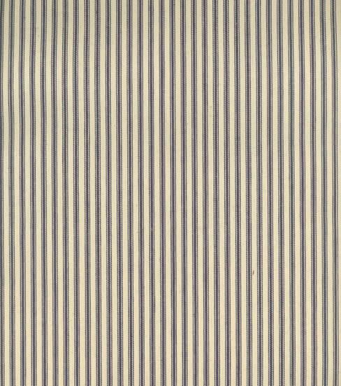 Use this ticking stripe fabric to make amazing curtains. | Twelveonmain.com