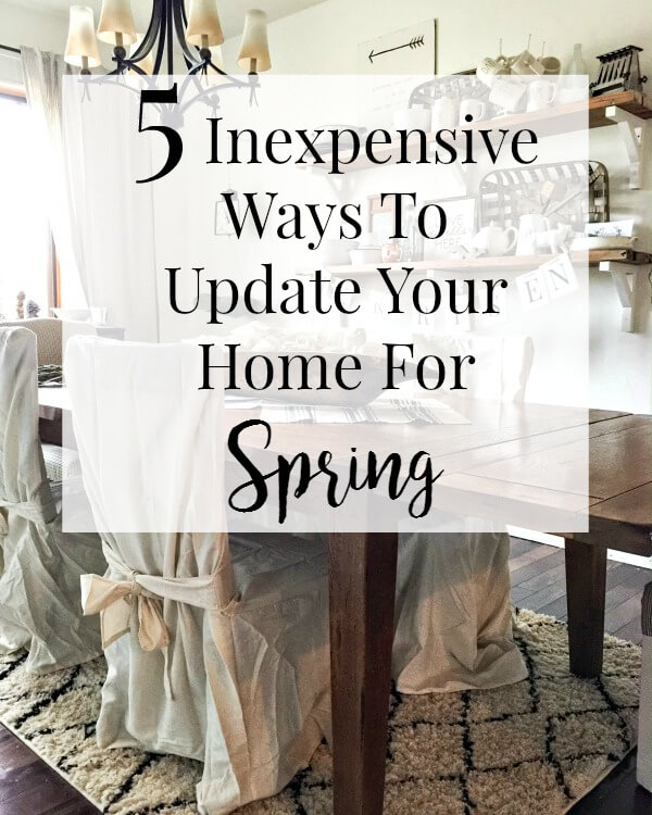 5 Inexpensive Ways to Add Spring Decor to Your Home