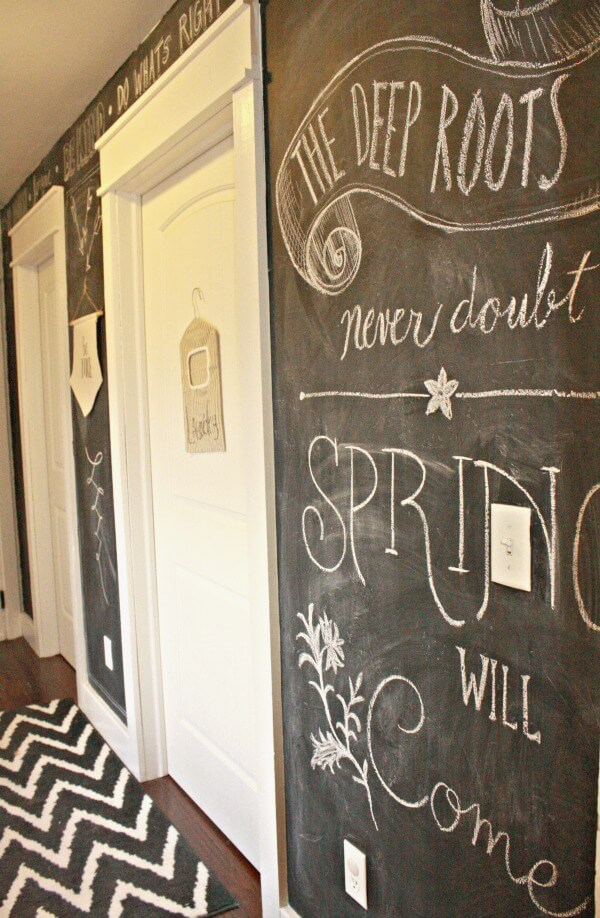 Chalkboard Wall Art spring chalkboard wall art - twelve on main
