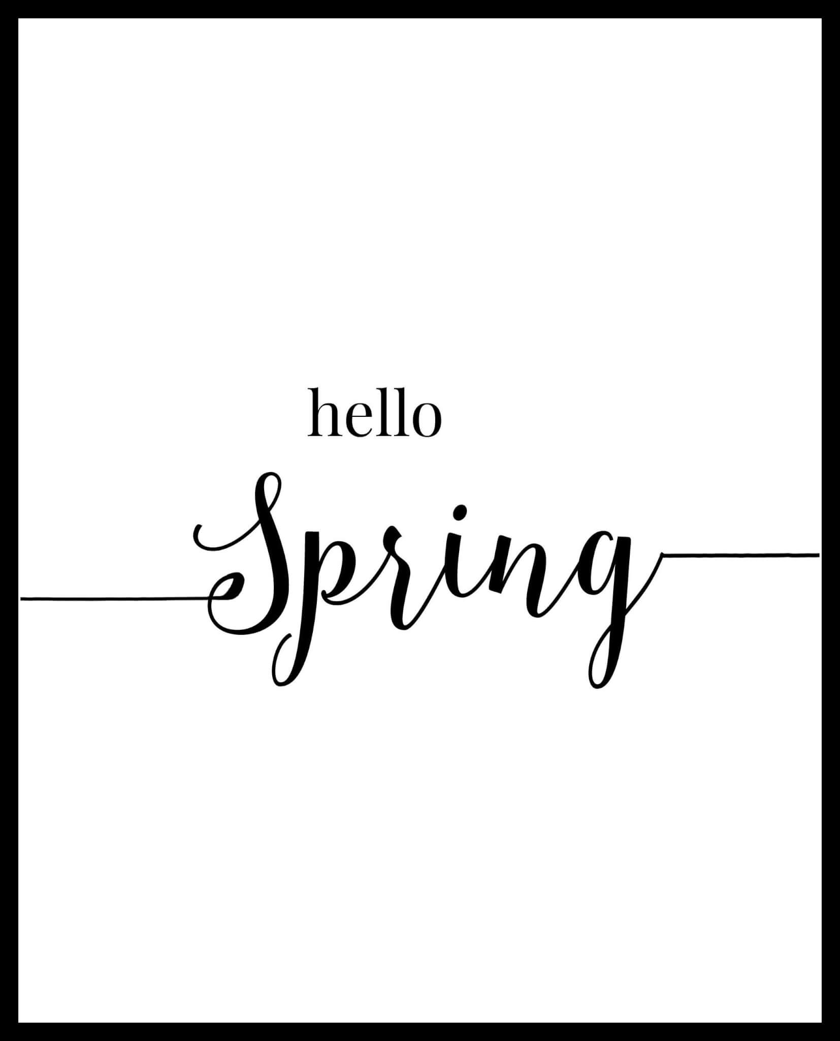 Free Spring Printables. These are so great. | Twelveonmain.com