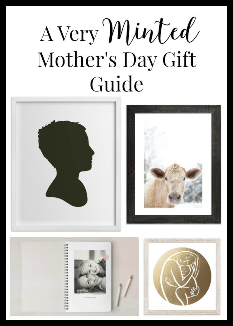 Look to Minted this year for a unique and heart felt gift for Mother's Day this year. | Twelveonmain.com