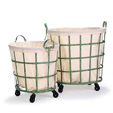 15 farmhouse style laundry baskets for your home take your laundry room from drab to