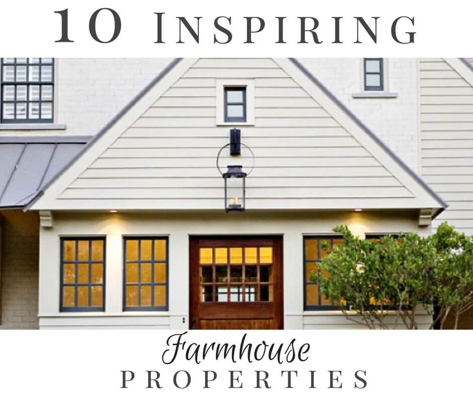 You will drool over these 10 inspiring farmhouse style homes that will knock your socks off and have you wishing for the simple life!