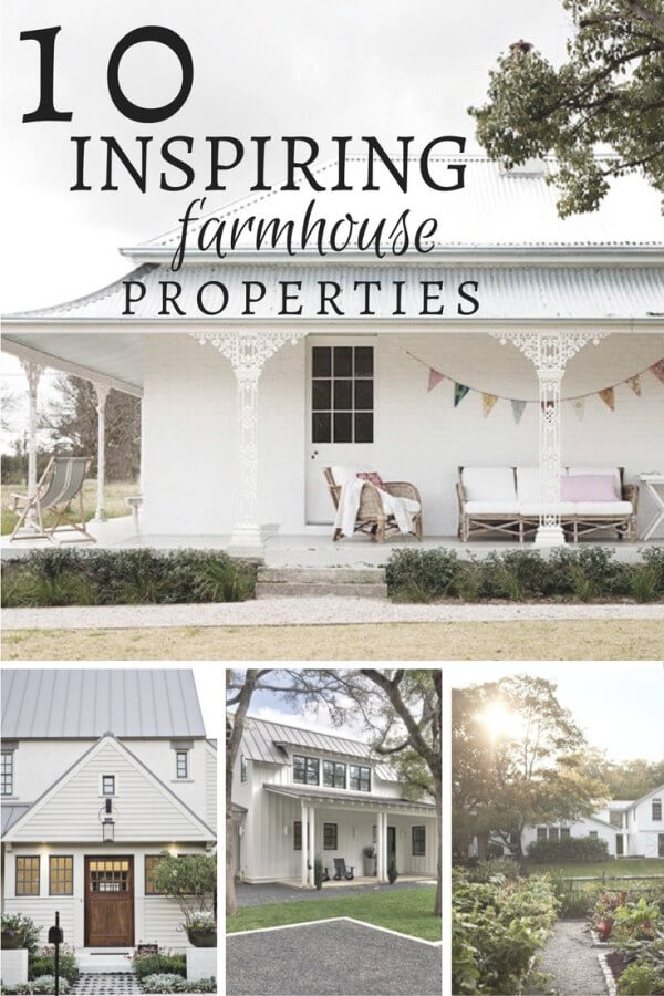 You will drool over these 10 inspiring farmhouse style homes! Click here to see them all!