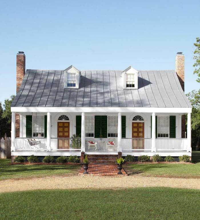 Gorgeous farmhouse exteriors, full of character and style.