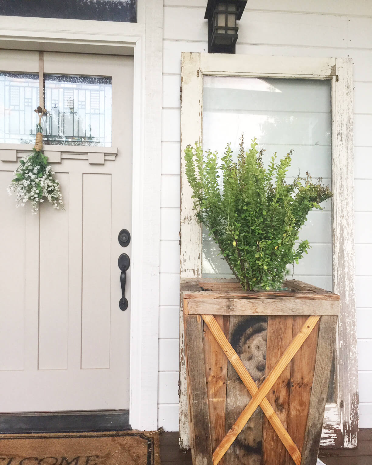 Use Old Doors As A Focal Point
