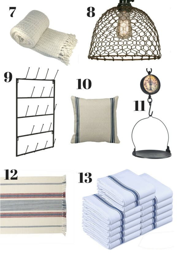 Do you love farmhouse style?  Do you hate spending a fortune decorating?  Here are 15 affordable farmhouse essentials for your home that you never knew you always wanted!