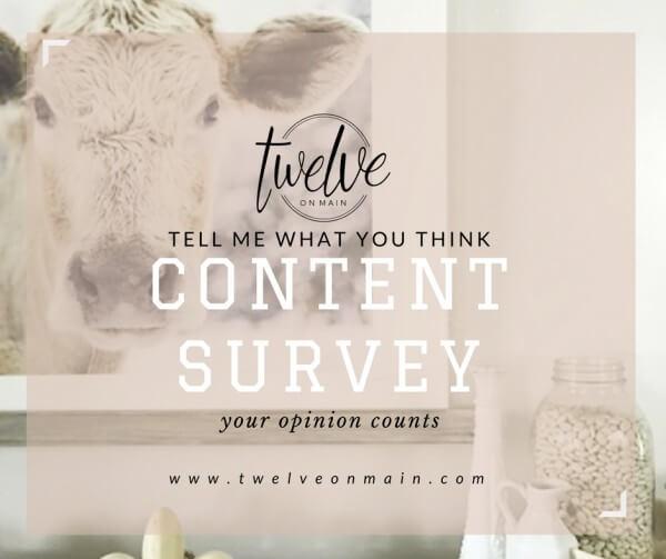Content survey (2)