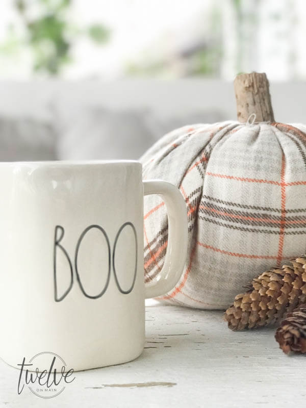 Make these super easy velvet pumpkins for the fall!
