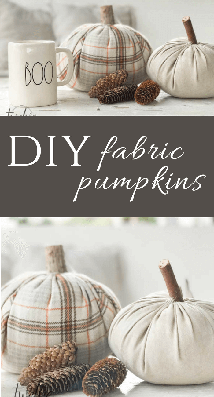 These DIY velvet pumpkins are so easy to make and are customizable! Add them to your fall decor now!