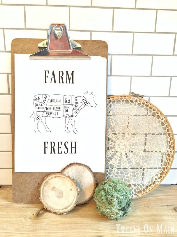 Farm Fresh Printable