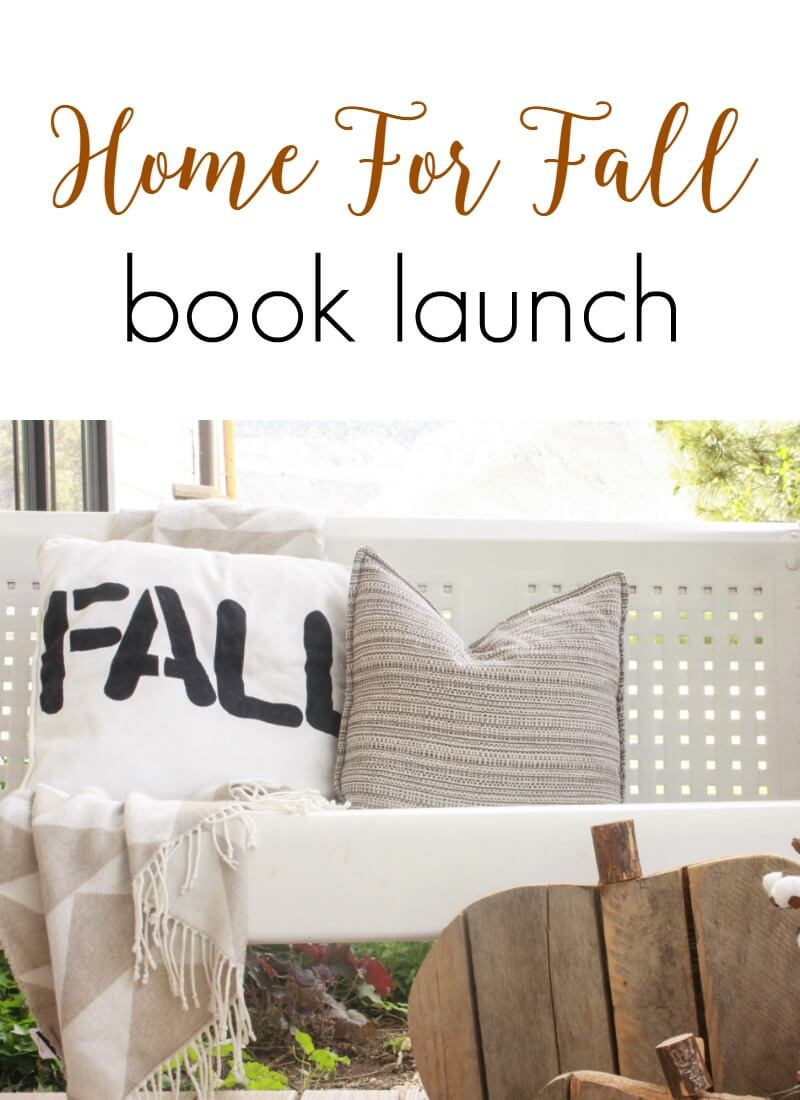 Home For Fall E-Book Launch
