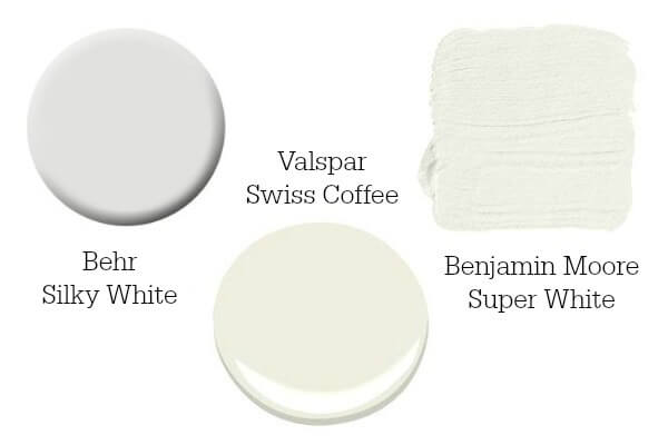 white paint options