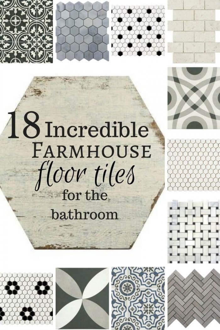18 incredible farmhouse floor tile