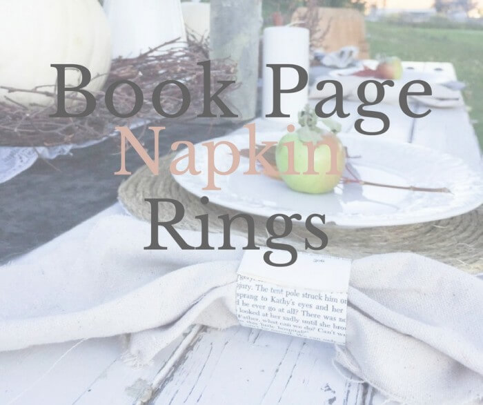 book-page-napkin-rings