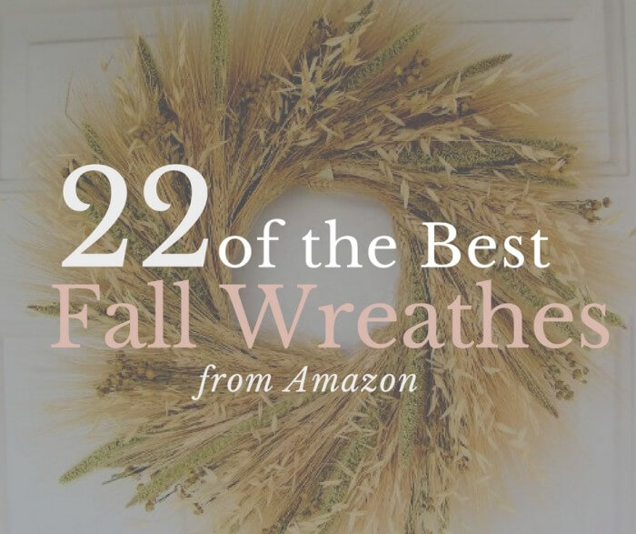 22 Farmhouse Fall Wreath Ideas
