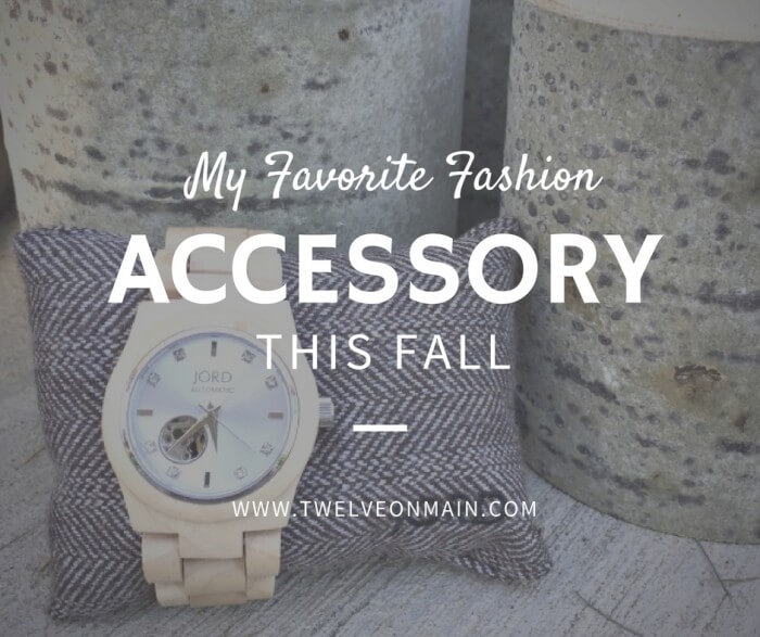 My Go To Fashion Accessory This Fall
