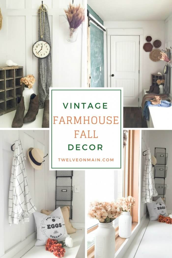 Do you love you some vintage farmhouse fall decor?  Check out this tour!