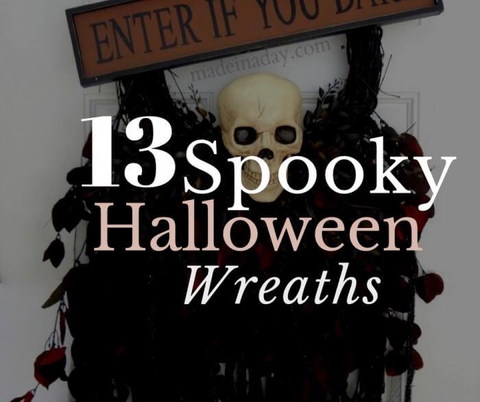 13 Spooky Halloween Wreaths