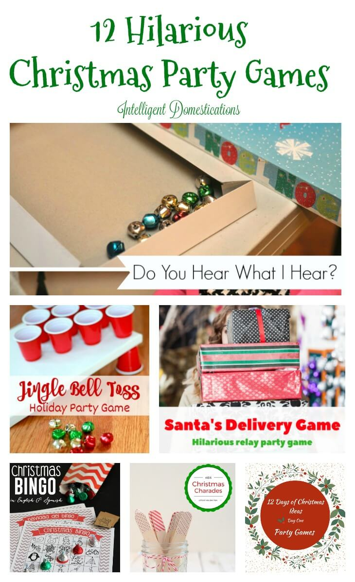 Fun Christmas Games for a Party