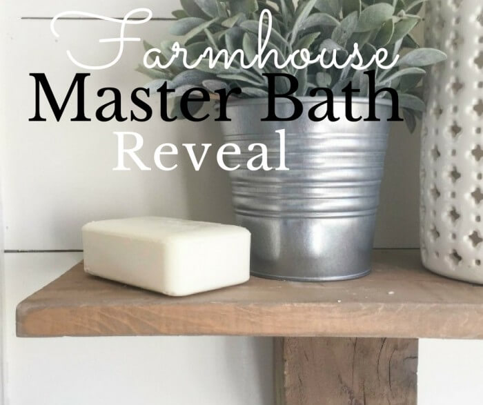 Farmhouse Master Bathroom | Final Reveal