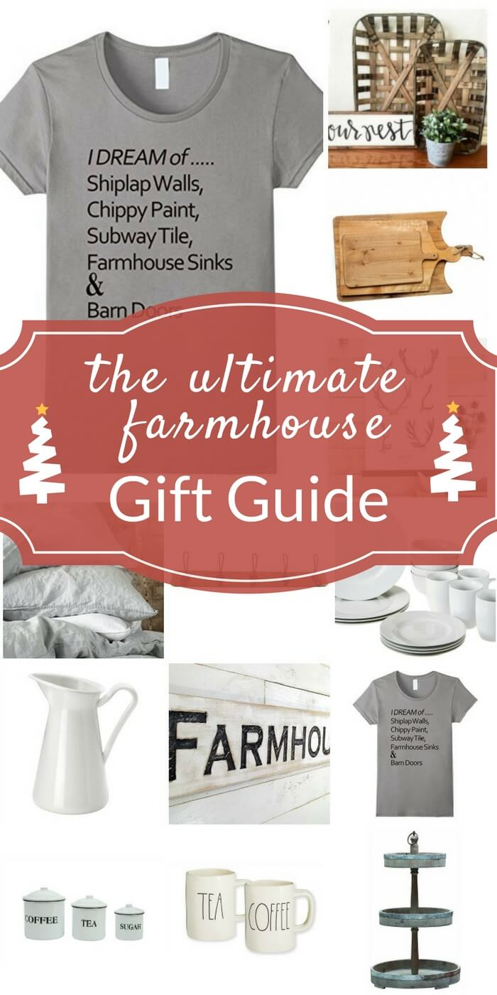 Hubbies take note!! This is the ultimate farmhouse gift guide! I would DIE!! Such cute stuff! Check out that shirt!