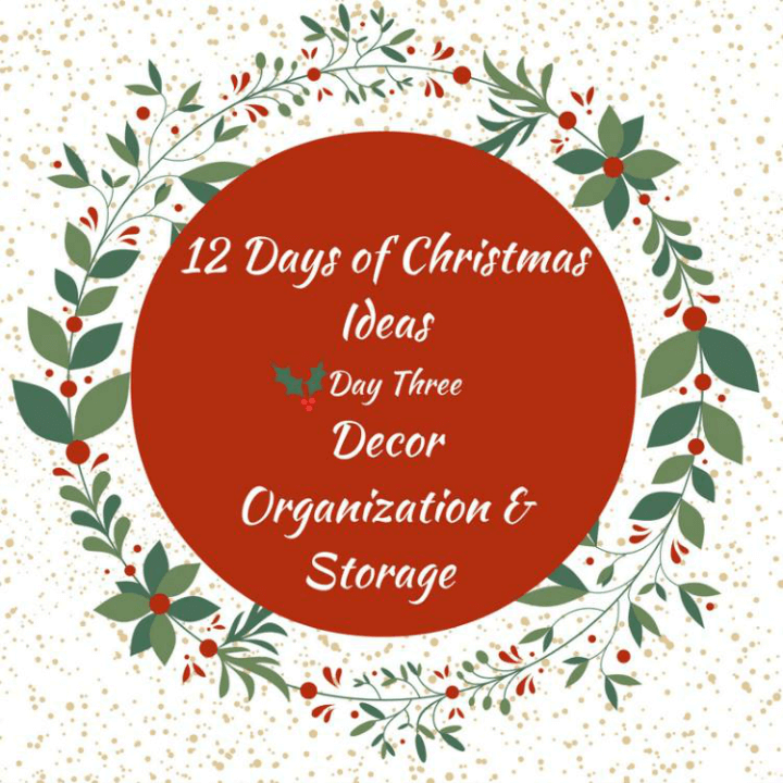 12 Creative Christmas Decoration Storage Ideas