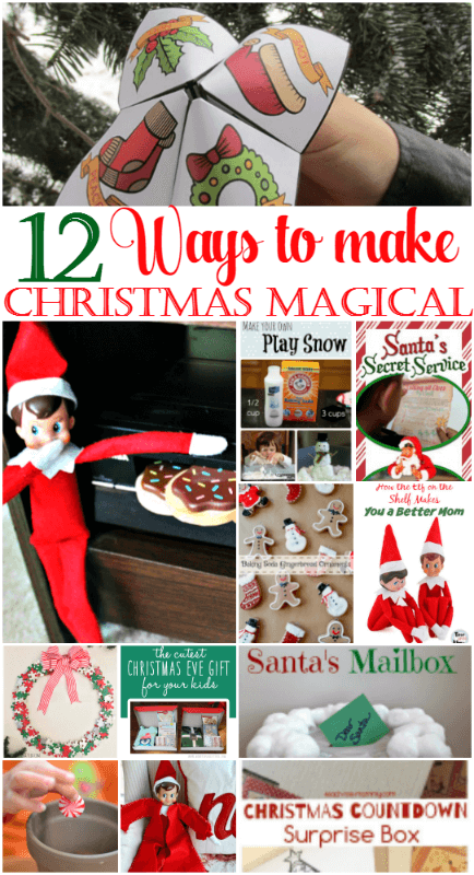 12 ways to make Christmas magic